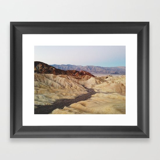 Zabriskie Point Framed Art Print
