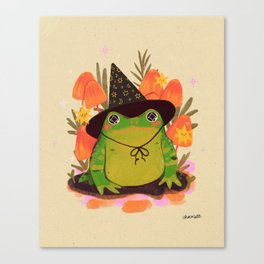 Wizard Toad Canvas Print
