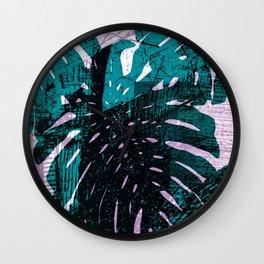 Urban Paradise Wall Clock