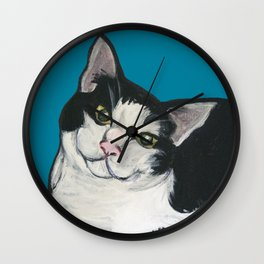 "Achilles the ""Cat From Hell"" Wall Clock"