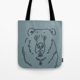 Befuddled Bear Tote Bag