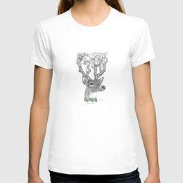 Deer Drawing T-shirt