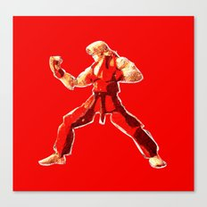 Street Fighter II - Ken Canvas Print