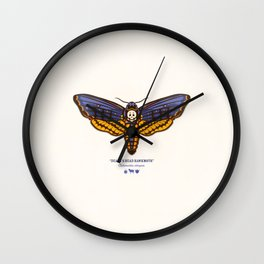 Death's Head Hawkmoth Wall Clock