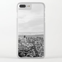 View of Downtown San Francisco from Twin Peaks Clear iPhone Case