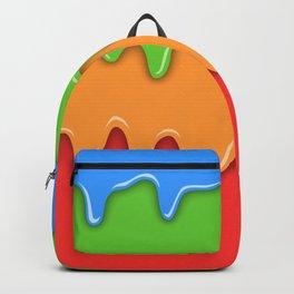 Bright color melt Backpack