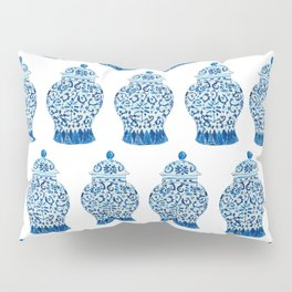 Blue and White Ginger Jar  Pillow Sham