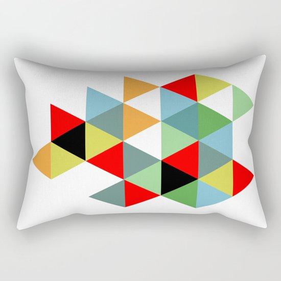 Abstract #593 Rectangular Pillow