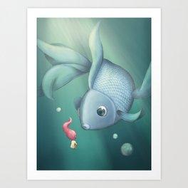 Bluefish Art Print