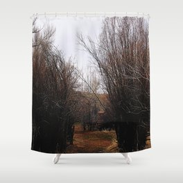 Bannack Overgrowth Shower Curtain