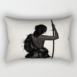 Female Samurai - Onna Bugeisha Rectangular Pillow