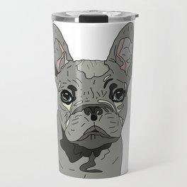 Frenchie Bulldog Puppy Travel Mug