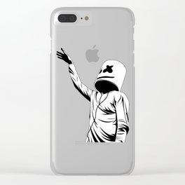 marshmello fun Clear iPhone Case