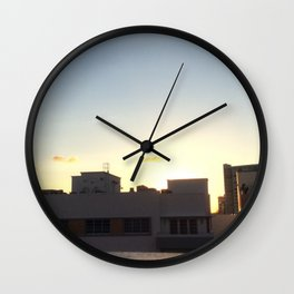 Sun & Shadows Wall Clock