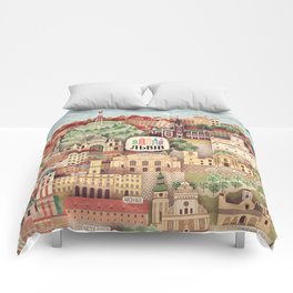 Lviv. Open for the World. Comforters