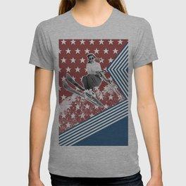 Ski like a Girl for USA T-shirt