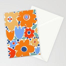 Mod Flower Patch {3} Stationery Cards