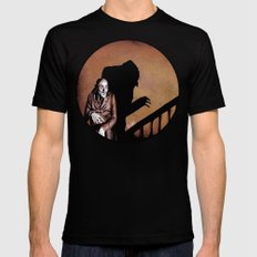 Nosferatu - A Symphony of HORROR! Black 2X-LARGE Mens Fitted Tee