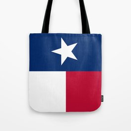 State flag of Texas, official banner orientation Tote Bag