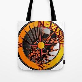 N-Vasive Lionfish logo Tote Bag