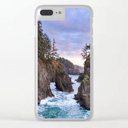 Natural Bridges Sunset Clear iPhone Case