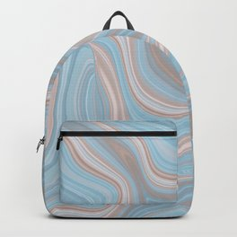 AGATE gem with abstract beach waves #nature Backpack