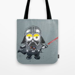 Darth Vader minion style Tote Bag