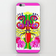 Maya lion iPhone & iPod Skin