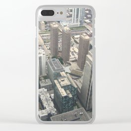 On Top of Chicago Clear iPhone Case