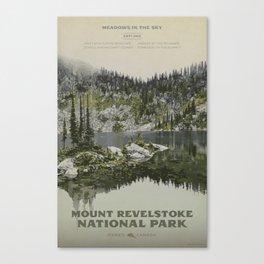 Mount Revelstoke National Park Canvas Print