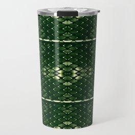 Chrome rhombuses Travel Mug