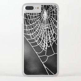 FROZEN WEB Clear iPhone Case