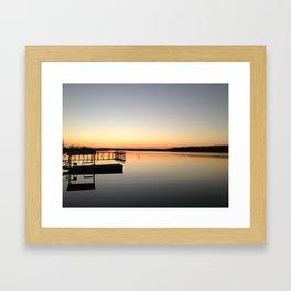 Lake Beulah, Bolivar County, Mississippi Framed Art Print