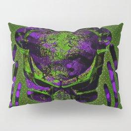 Soldier Predator Green Purple Pillow Sham