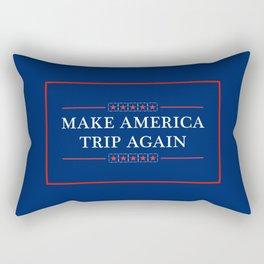 Make America Trip Again - Psychedelic, Weed, Mushroom, LSD Rectangular Pillow
