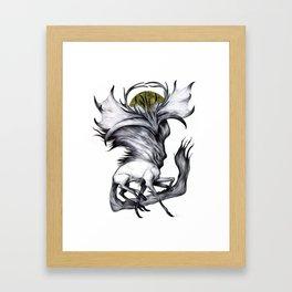 A Forest's Grace Framed Art Print