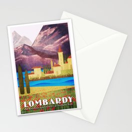 Italy Lombardy Stationery Cards