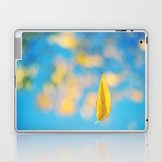 Yellow & blue Laptop & iPad Skin