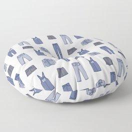 Denim Floor Pillow