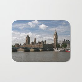 Houses of Parliament, London, UK Bath Mat