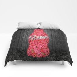 Flower Coke Comforters