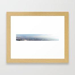 East and West Framed Art Print