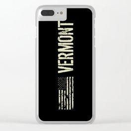 Black Flag: Vermont Clear iPhone Case
