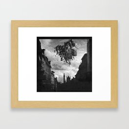 Collapsing Fortress Framed Art Print
