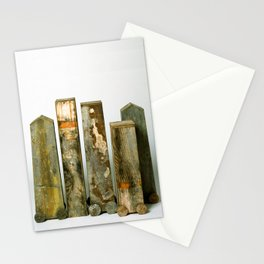 Residual Village No2 by Annalisa Ramondino Stationery Cards