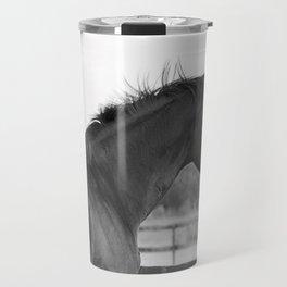 Bubba in Black and White Travel Mug