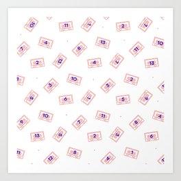 13 sides Art Print
