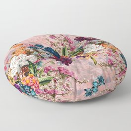 Summer Botanical Garden VIII - II Floor Pillow