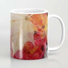 Dewy Maple Leaf Coffee Mug