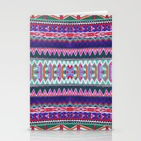 folk Stationery Cards featuring FOLK by Vasare Nar